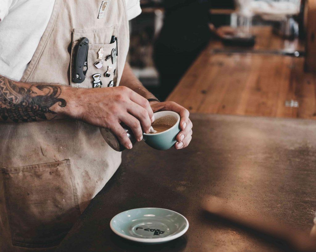 cómo preparar un café macchiato