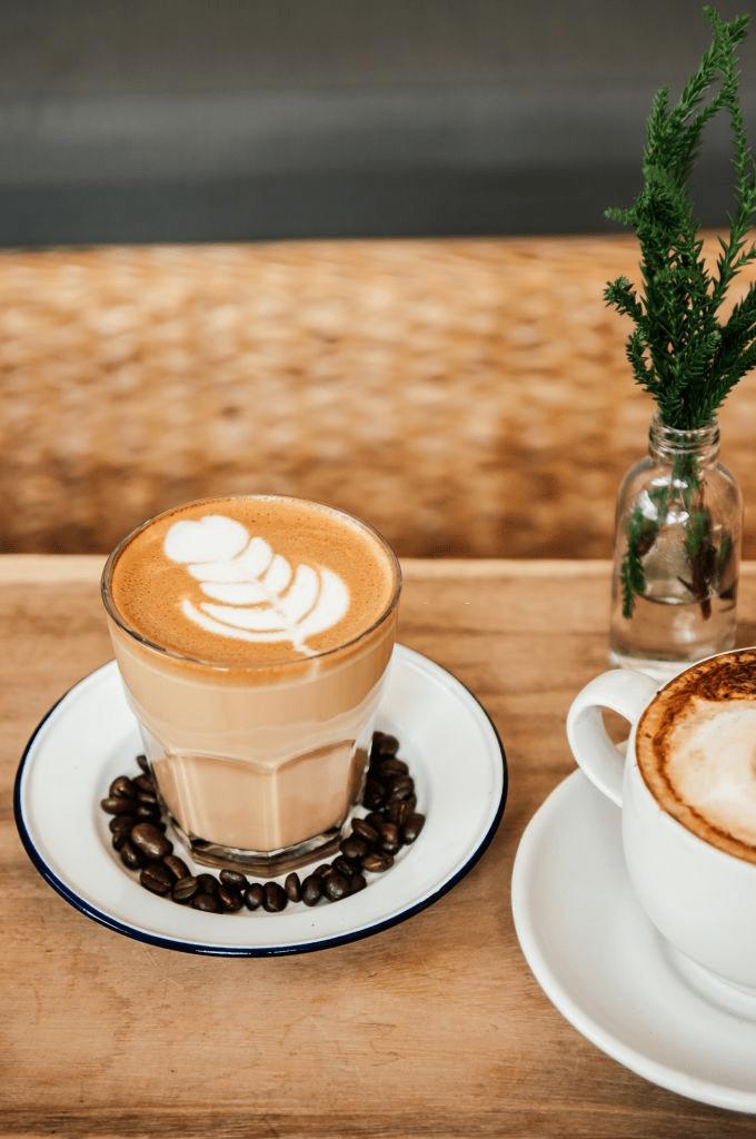 café con diseño
