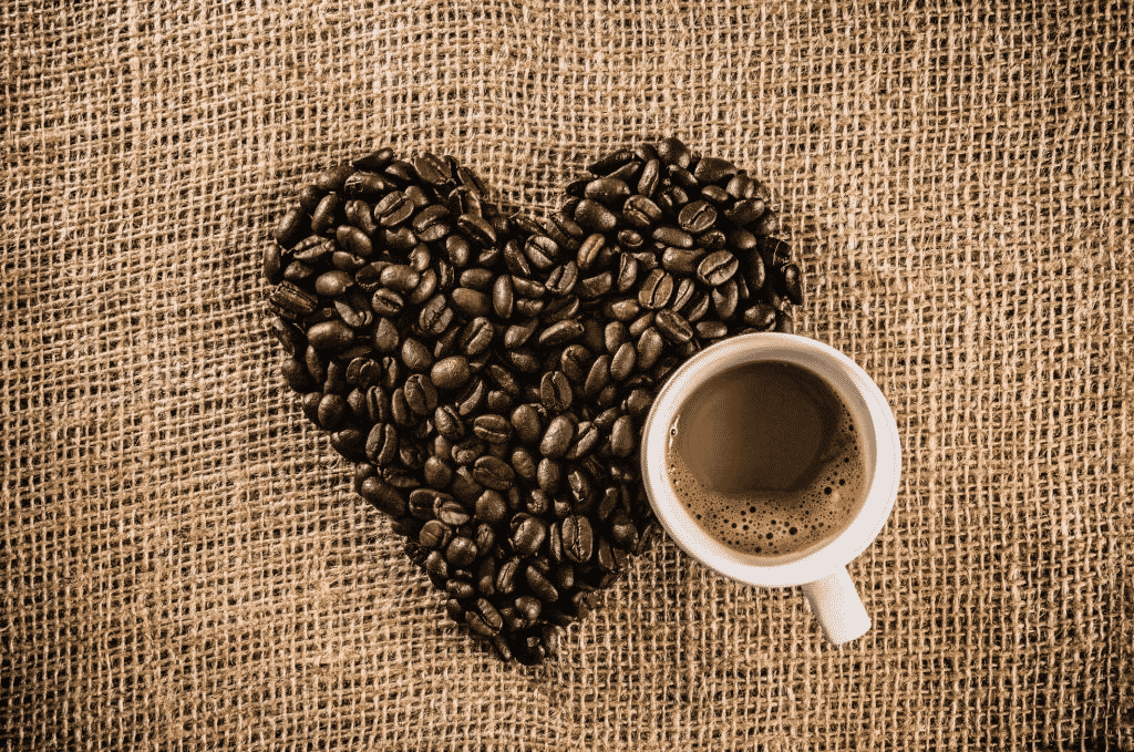 café y un corazón