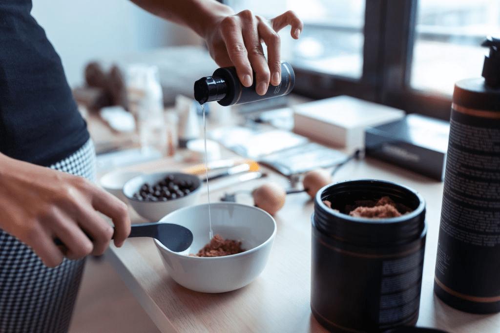 exfoliante de café para la celulitis