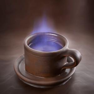 café carajillo flameado