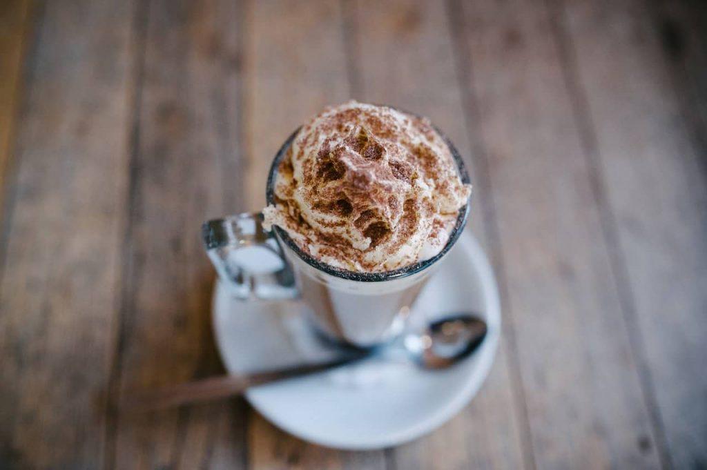 café con chocolate