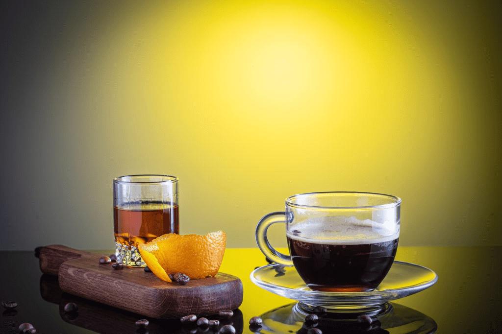 café con licor