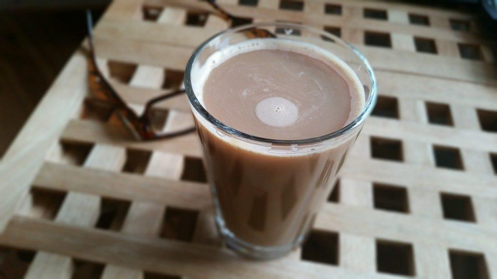 café soluble disuelto