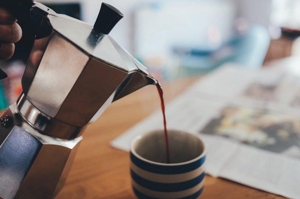 café después de comer