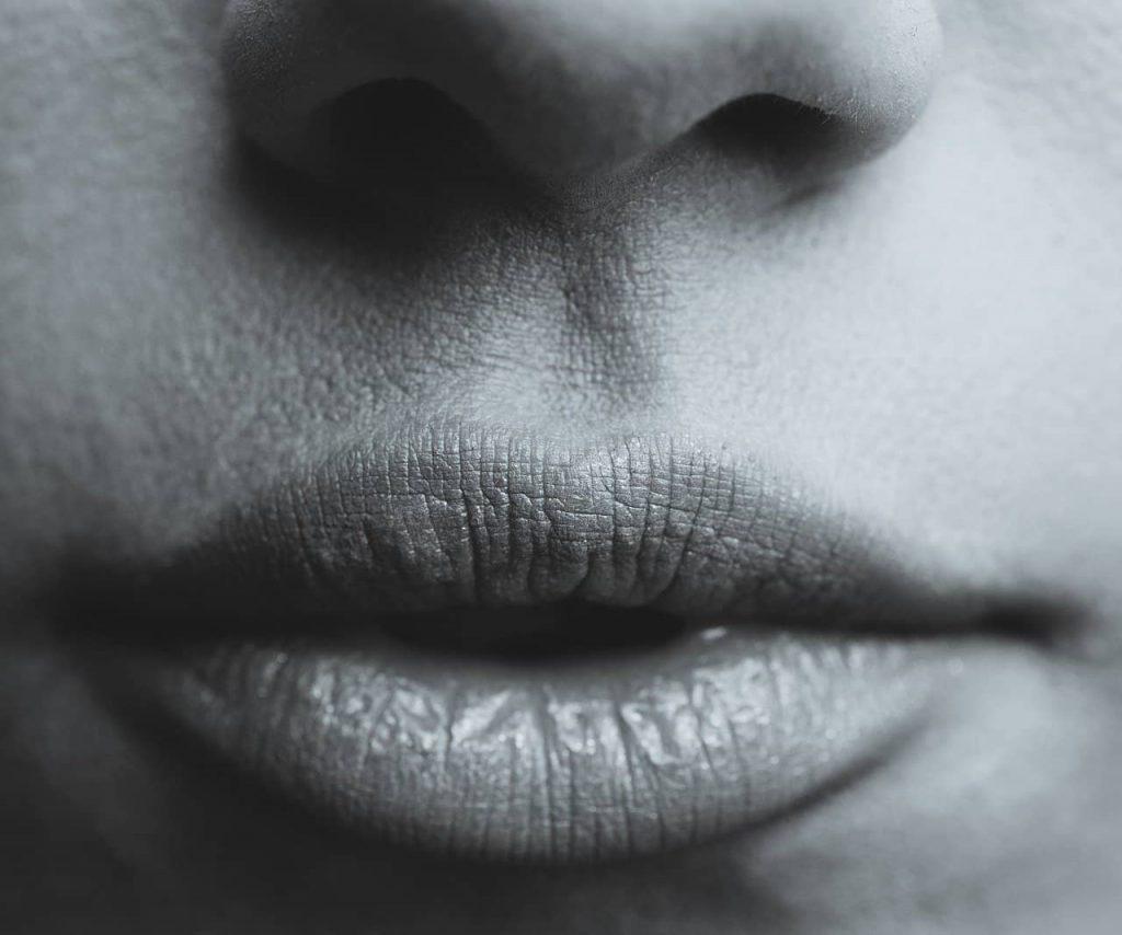 labios de cerca