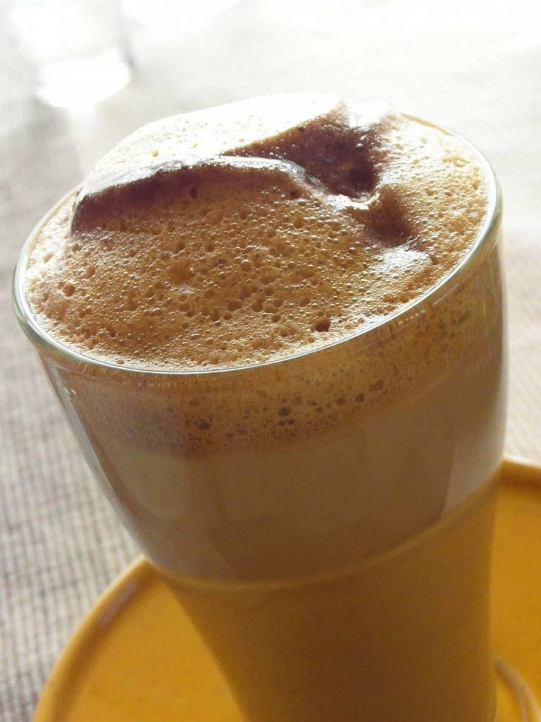 receta de café al chocolate