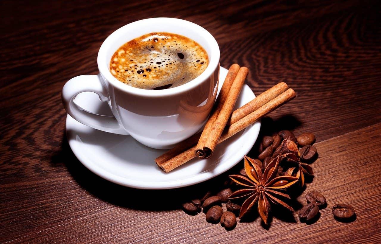receta de café con canela