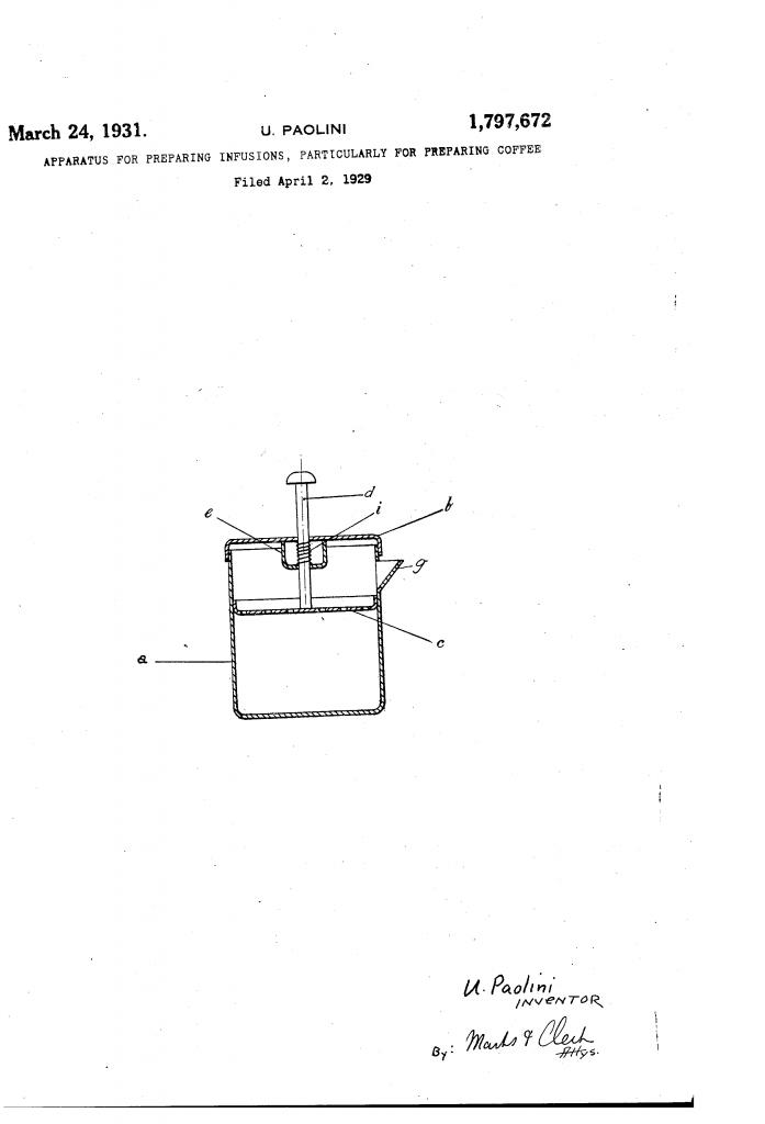 primera patente prensa francesa